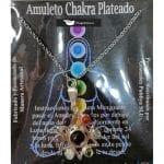 Amuleto Artesano Metal Plateado Estrella