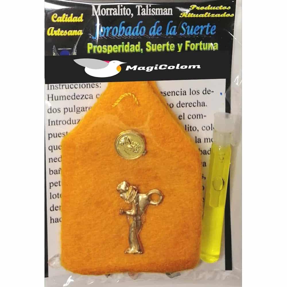 Amuleto Morralito Jorobado de la Suerte