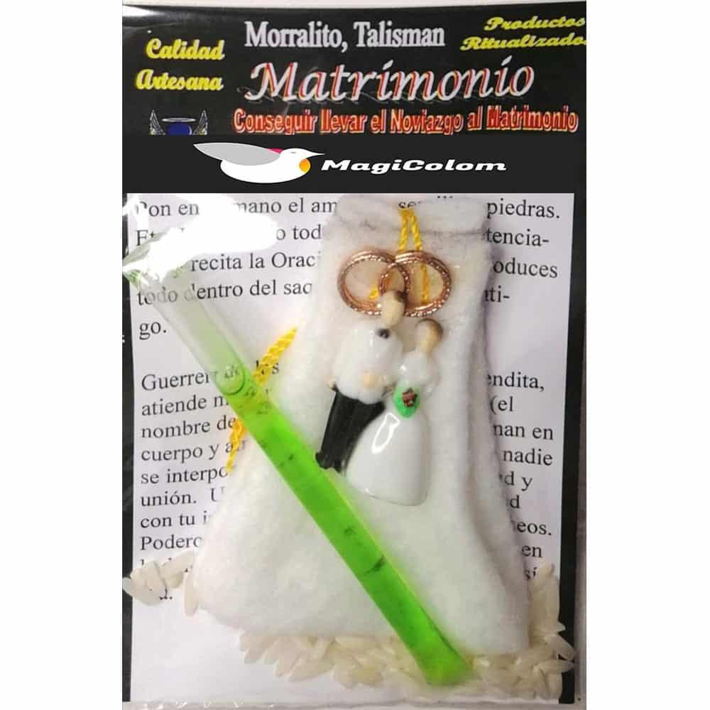 Amuleto Morralito Unión Matrimonial