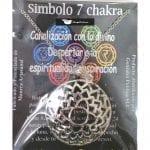 Símbolo de Metal Plateado del Séptimo Chakra
