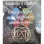 Símbolo de Metal Plateado del Primer Chakra