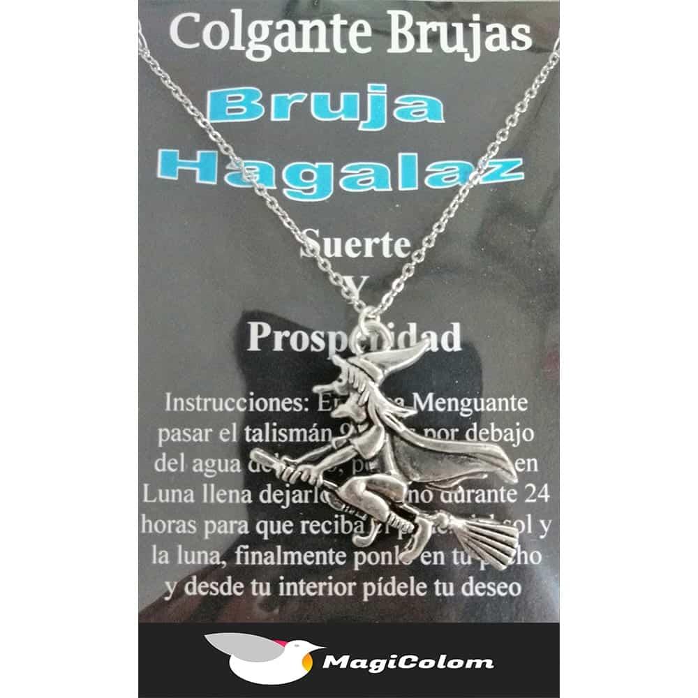 Amuleto mágico Bruja Hagalaz