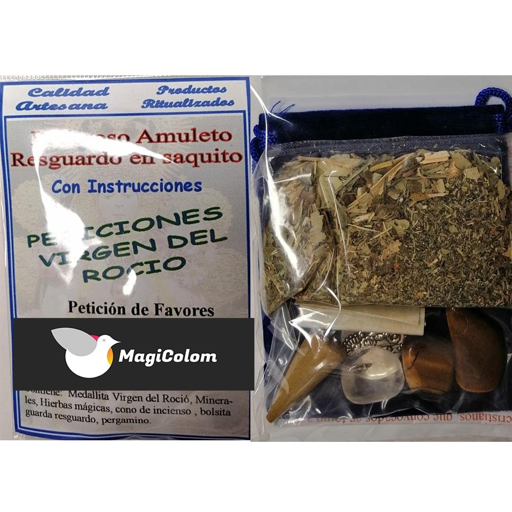 Amuleto de protección Virgen del Rocío