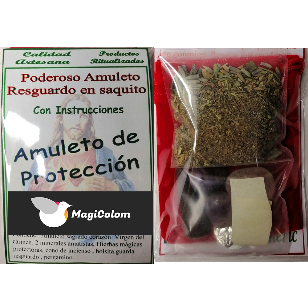 Amuleto de protección Amparo
