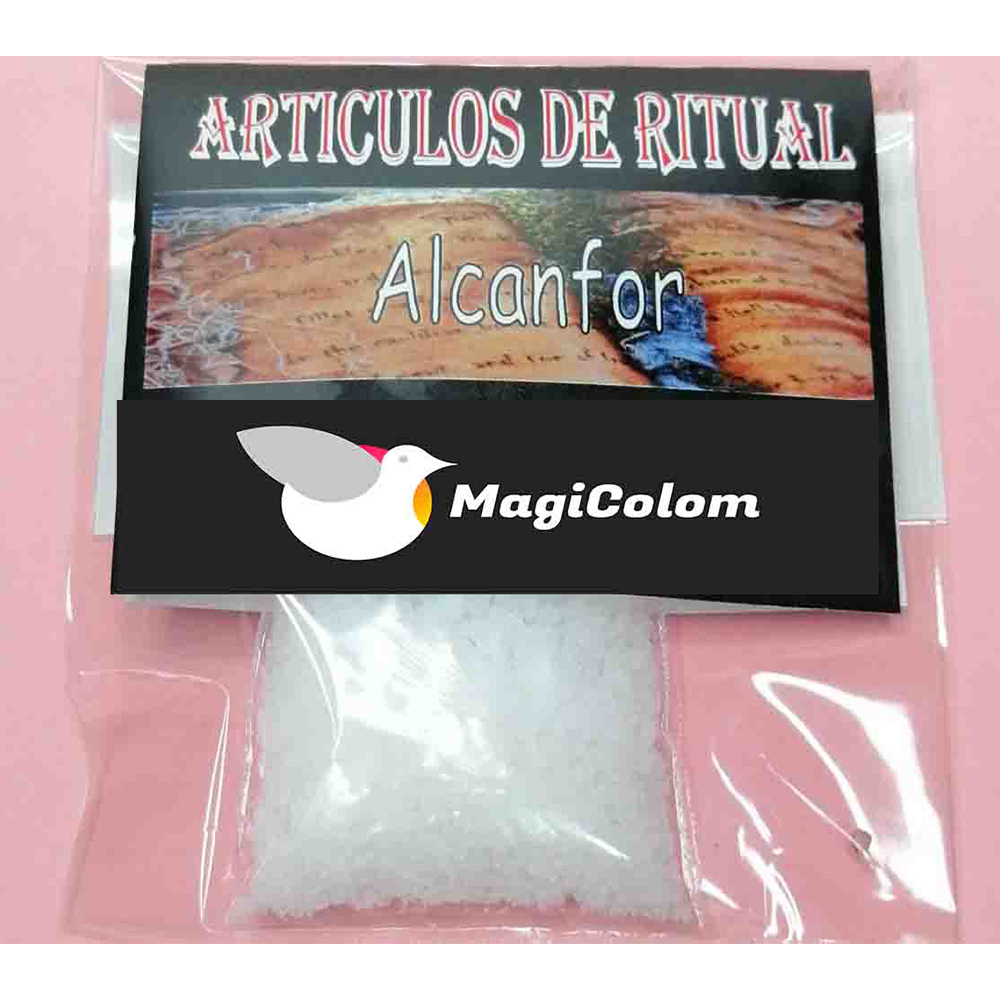 Alcanfor Esotérico para Rituales