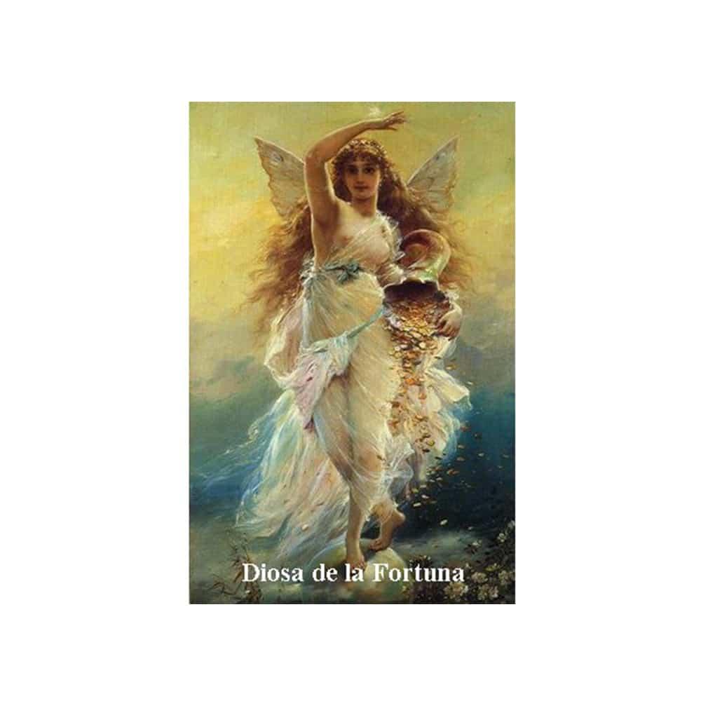 Estampa Plastificada Diosa de la Fortuna