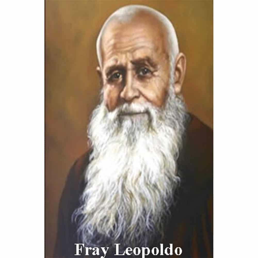 Estampa Plastificada Fray Leopoldo