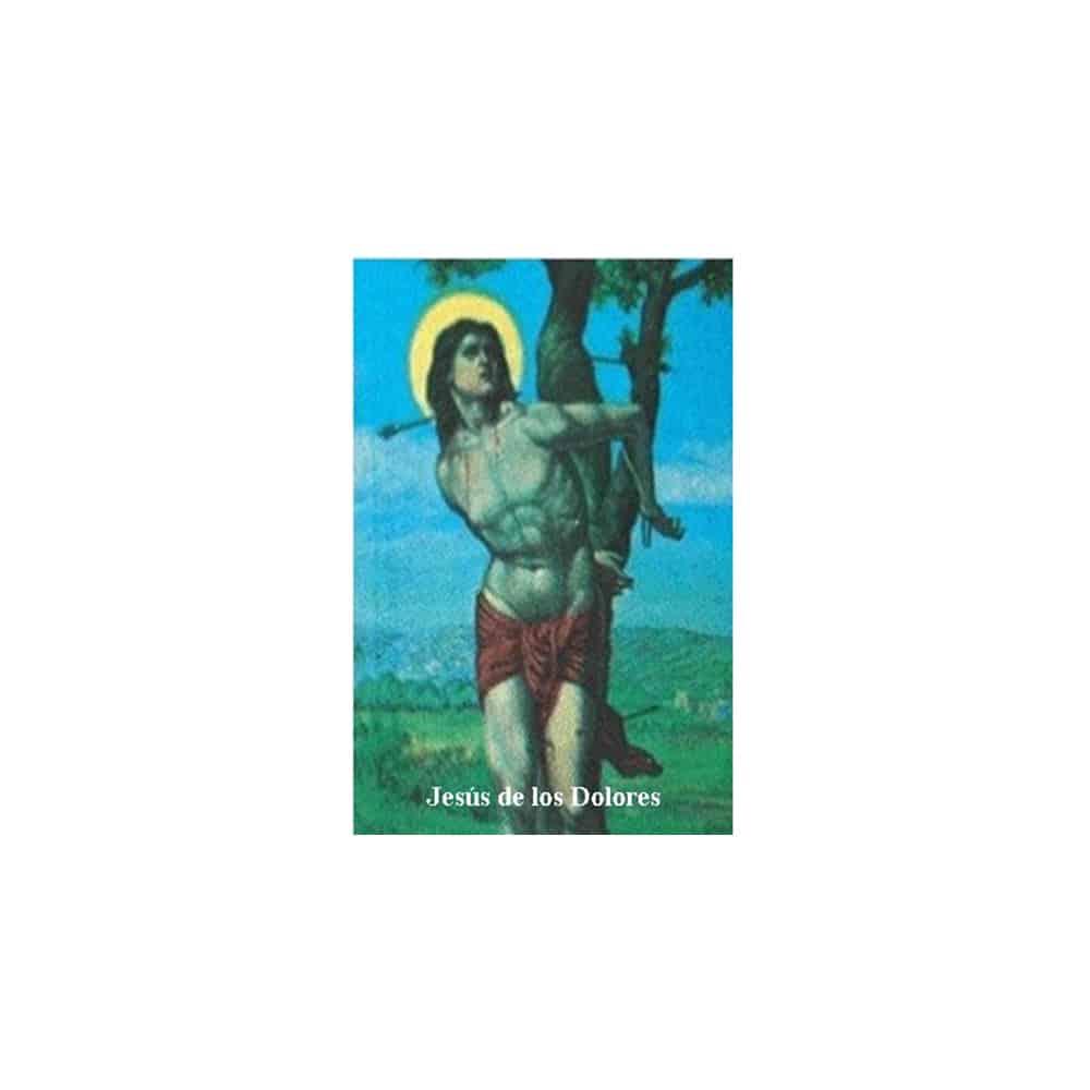 Estampa Plastificada Jesús de los Dolores