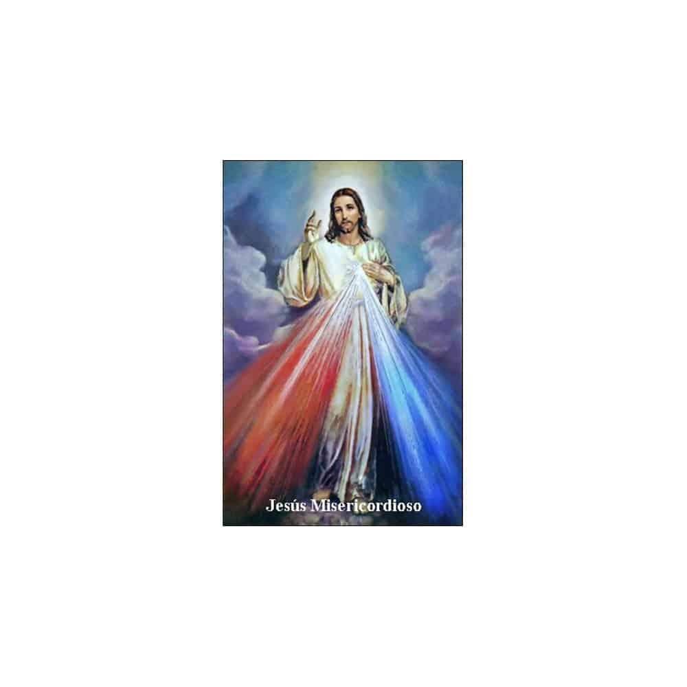 Estampa Plastificada Jesús Misericordioso