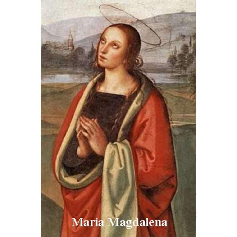Estampa Plastificada María Magdalena