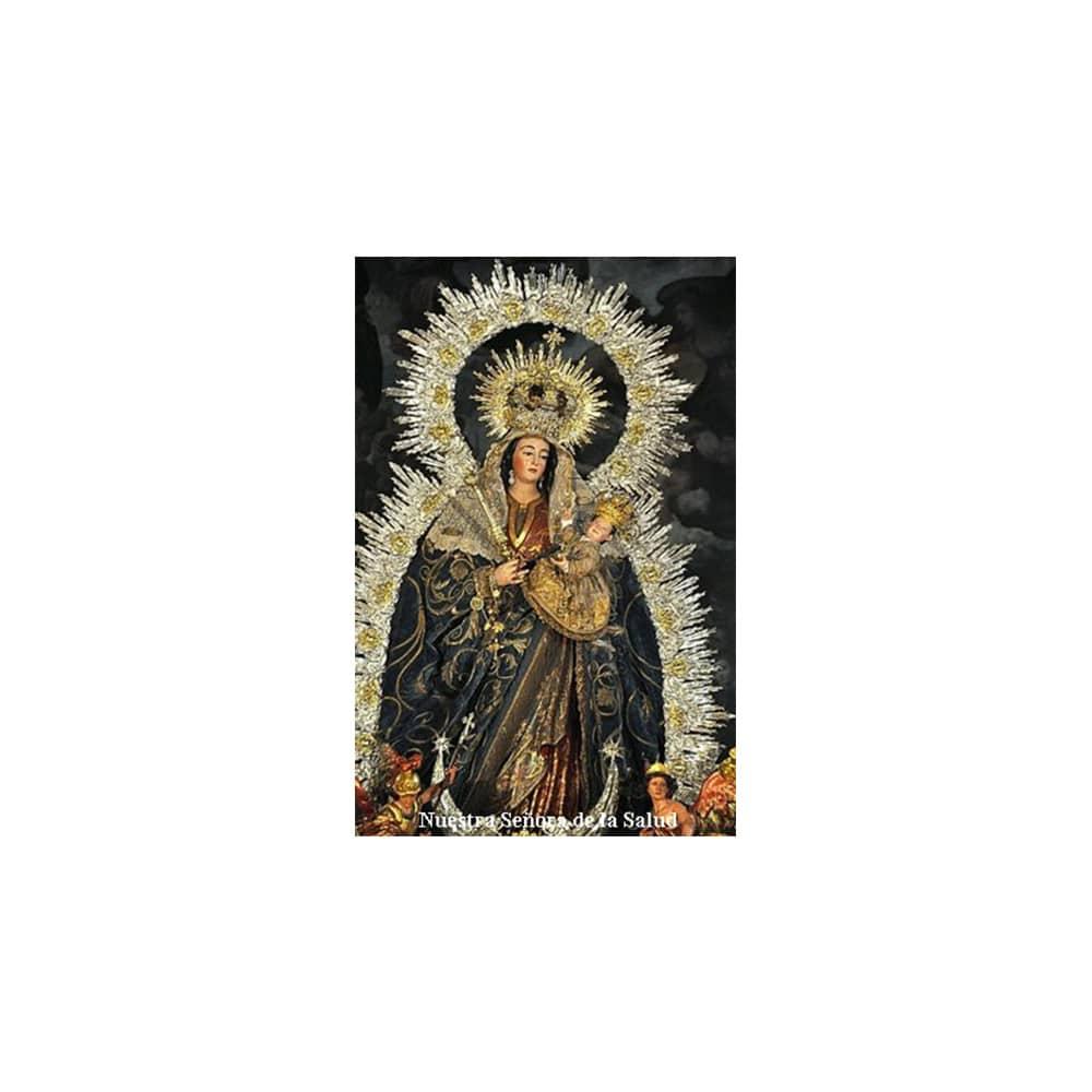 Estampa Plastificada Nuestra Señora de la Salud