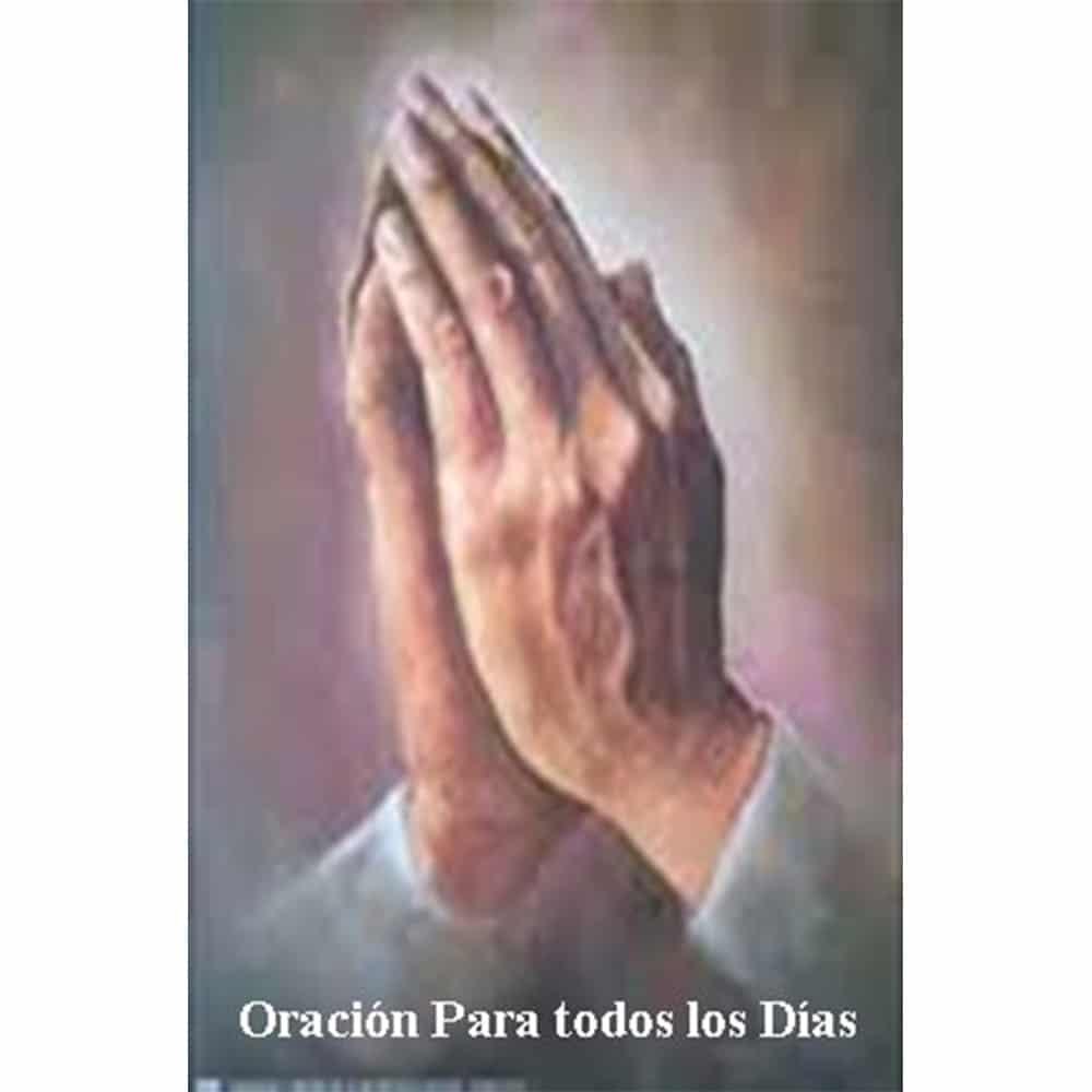 Estampa Plastificada Oración de cada Día
