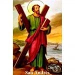 Estampa Plastificada San Andrés