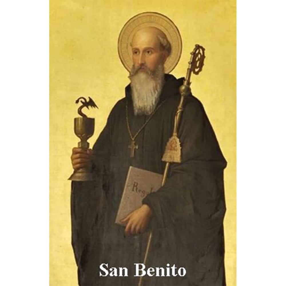 Estampa Plastificada San Benito