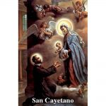 Estampa Plastificada San Cayetano