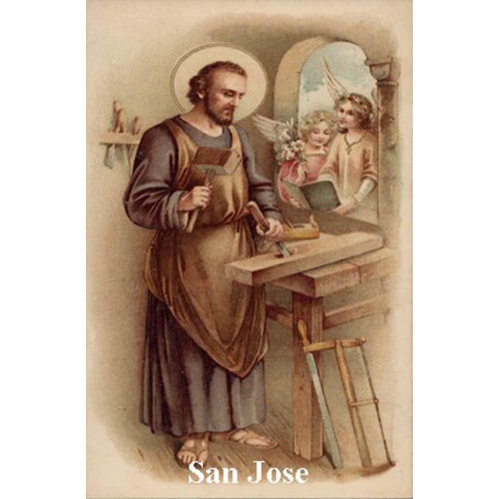Estampa Plastificada San José