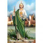Estampa Plastificada San Judas Tadeo Enfermos