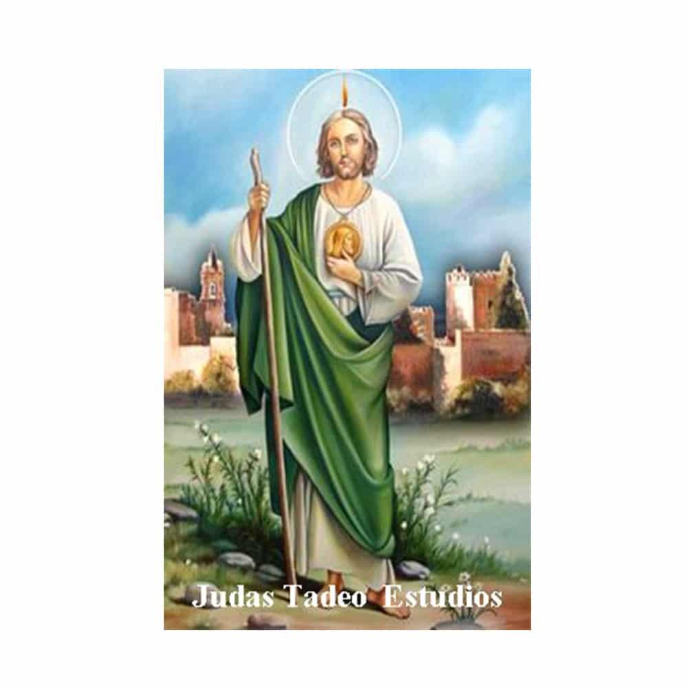 Estampa Plastificada San Judas Tadeo Estudios
