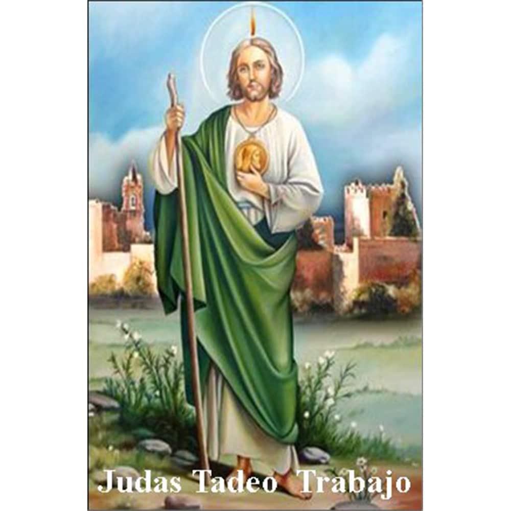 Estampa Plastificada San Judas Tadeo Trabajo