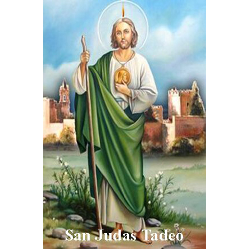 Estampa Plastificada San Judas Tadeo