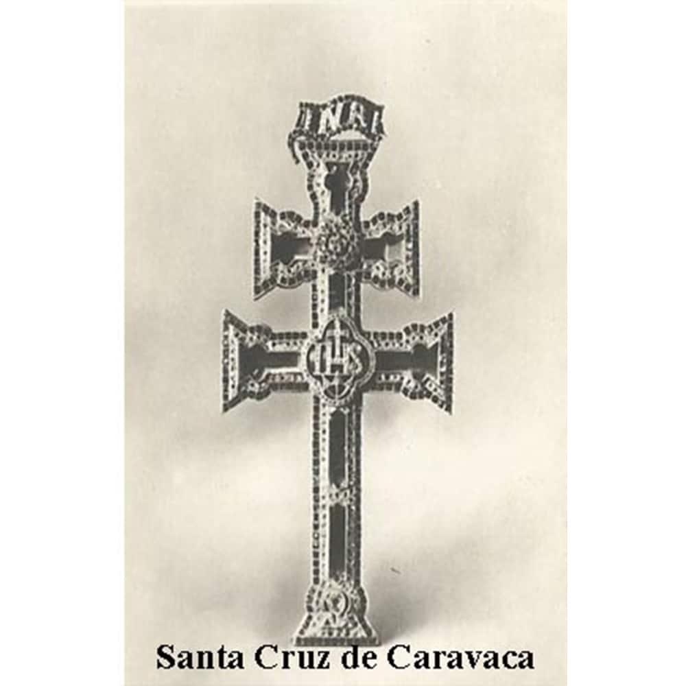 Estampa Plastificada Santa Cruz de Caravaca