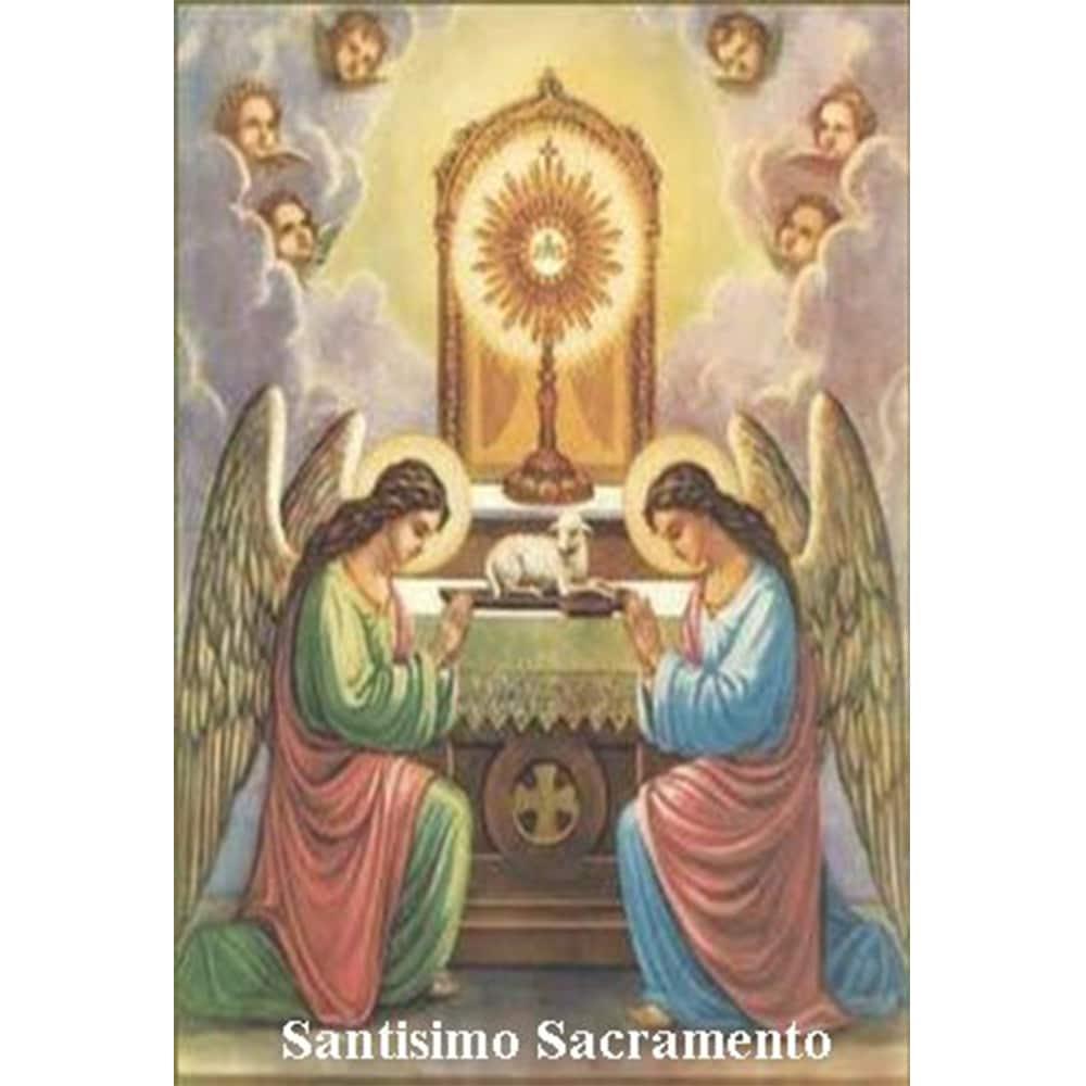 Estampa plastificada Santísimo Sacramento
