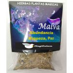 Hierba Malva 30 Gr Abundancia, Riqueza, Paz