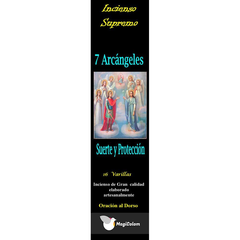 Incienso 7 arcángeles con oración