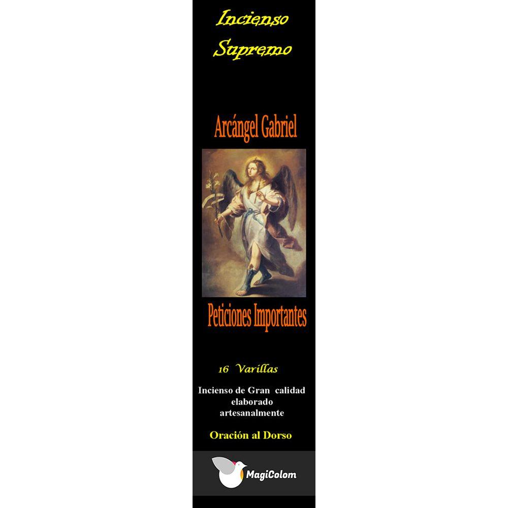 Incienso arcángel San Gabriel con oración