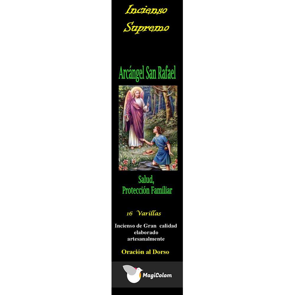 Incienso arcángel San Rafael con oración