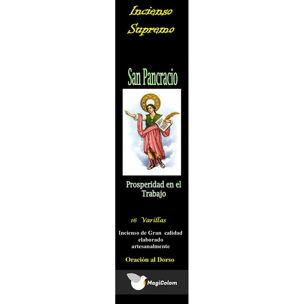 Incienso esotérico San Pancracio con oración