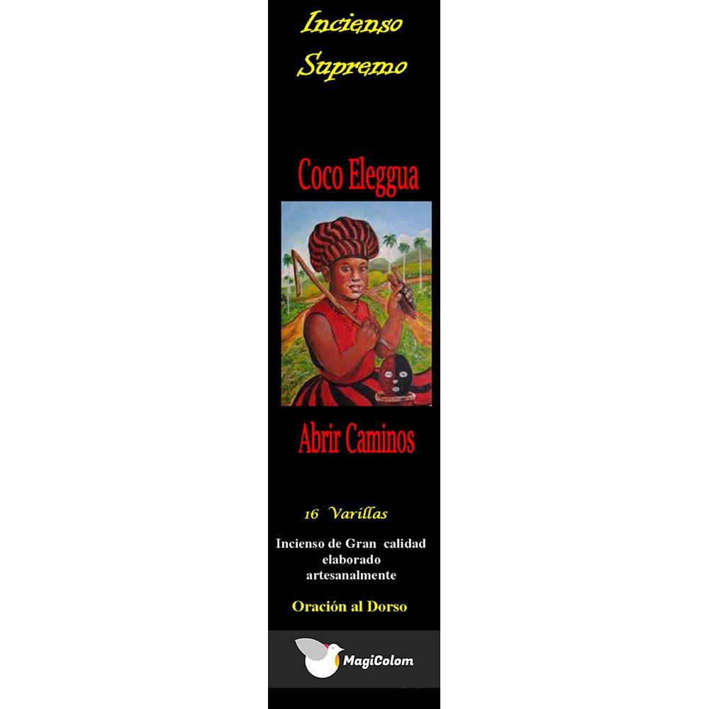 Incienso de santería Coco eleggua con oración