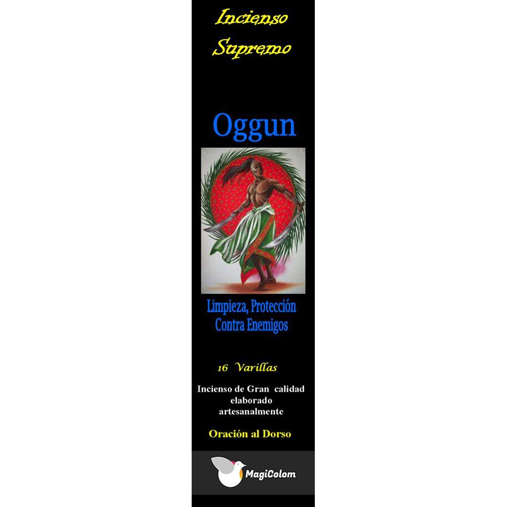 Incienso de santería Oggun con oración