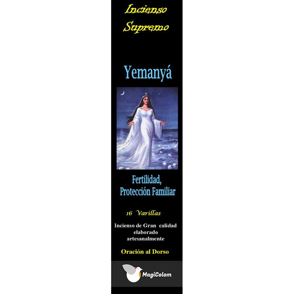 Incienso de santería Yemanyá con oración