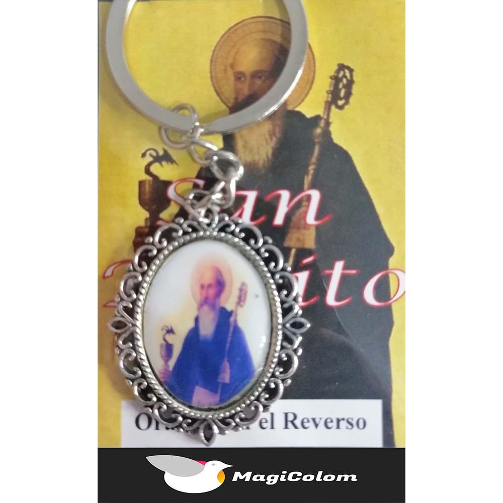 Llavero Esmaltado San Benito