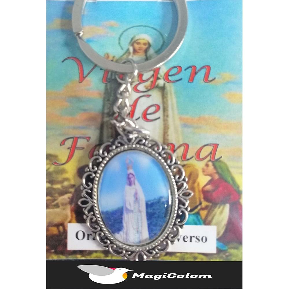 Llavero Esmaltado Virgen de Fátima