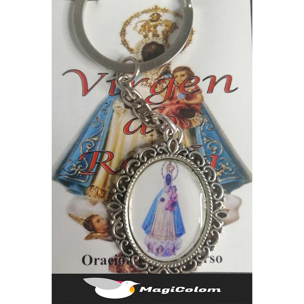 Llavero Esmaltado Virgen de Regla