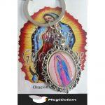 Llavero Esmaltado Virgen Guadalupe