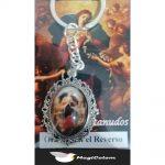 Llavero Esmaltado Virgen María Desatanudos