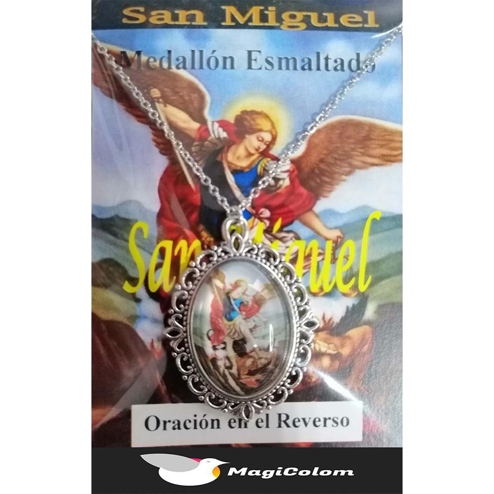Medallón Esmaltado San Miguel