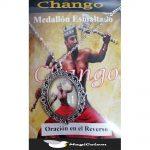 Medallón Esmaltado Chango