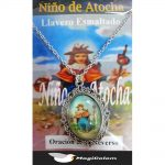Medallón Esmaltado Niño de Atocha