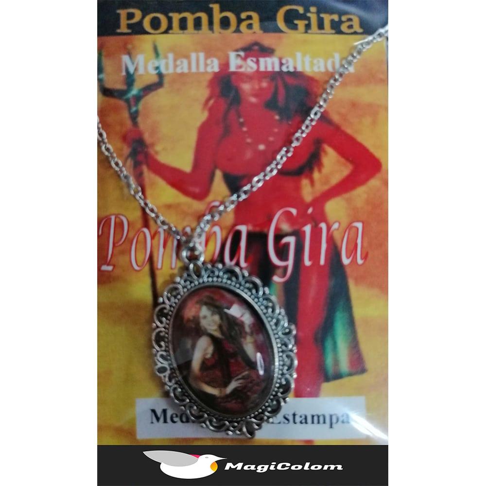 Medallón Esmaltado Pomba Gira