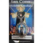 Medallón Esmaltado San Cono