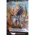 Medallón Esmaltado San Lázaro