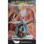 Medallón Esmaltado San Marcos de León