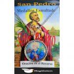 Medallón Esmaltado San Pedro