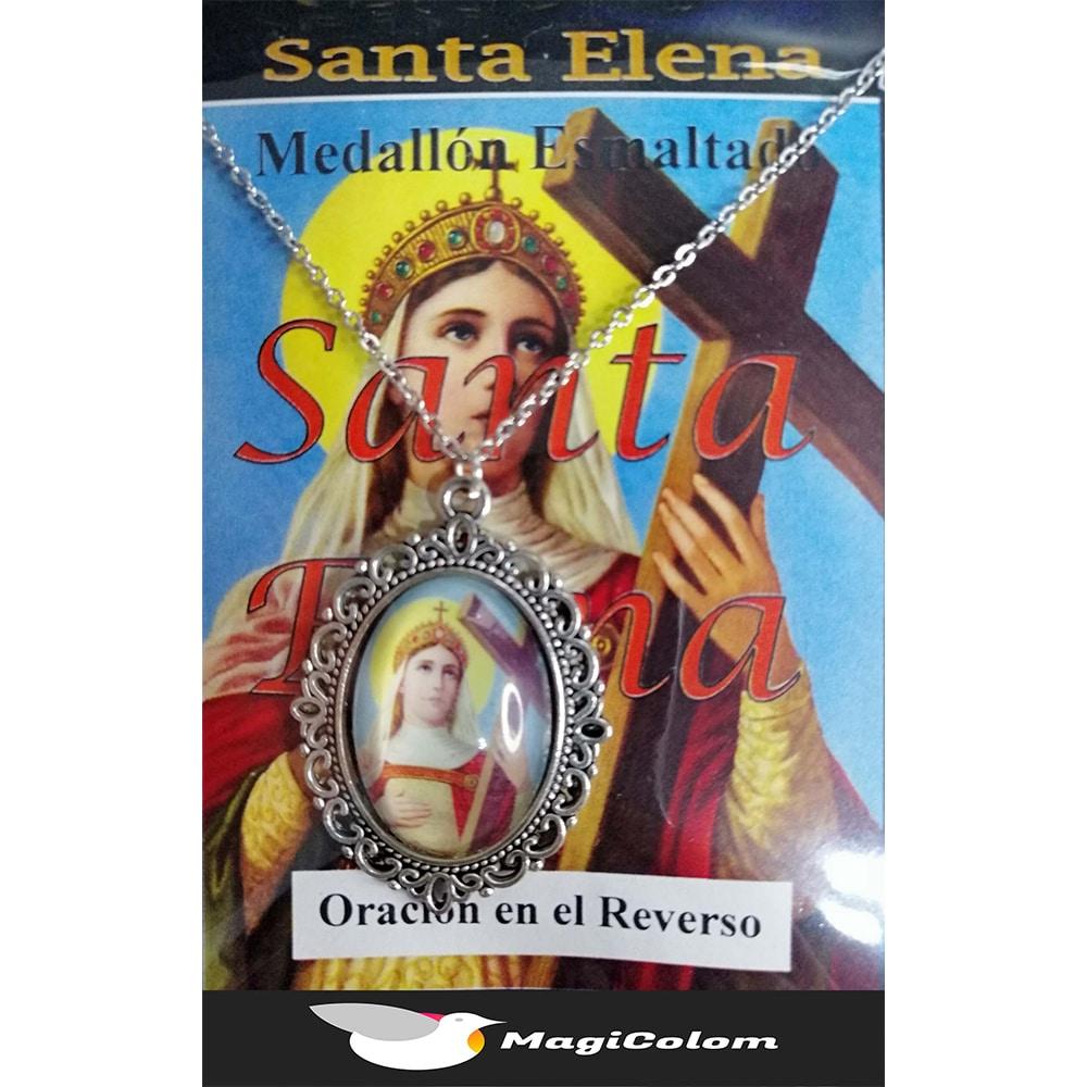 Medallón Esmaltado Santa Elena