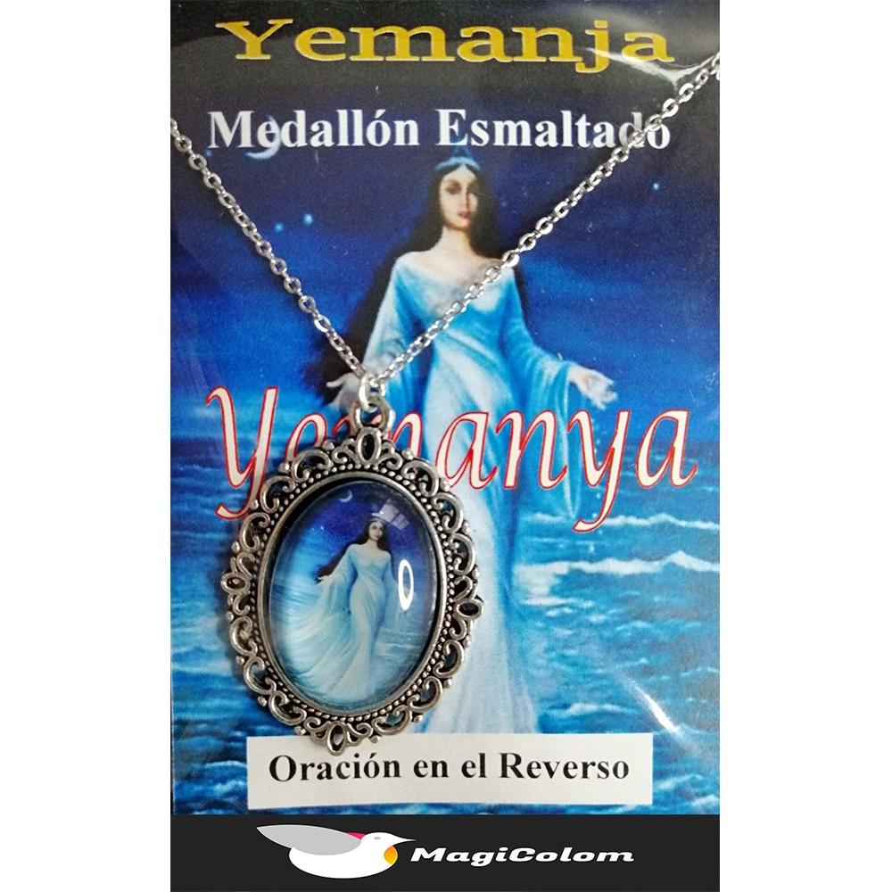 Medallón Esmaltado Yemanyá