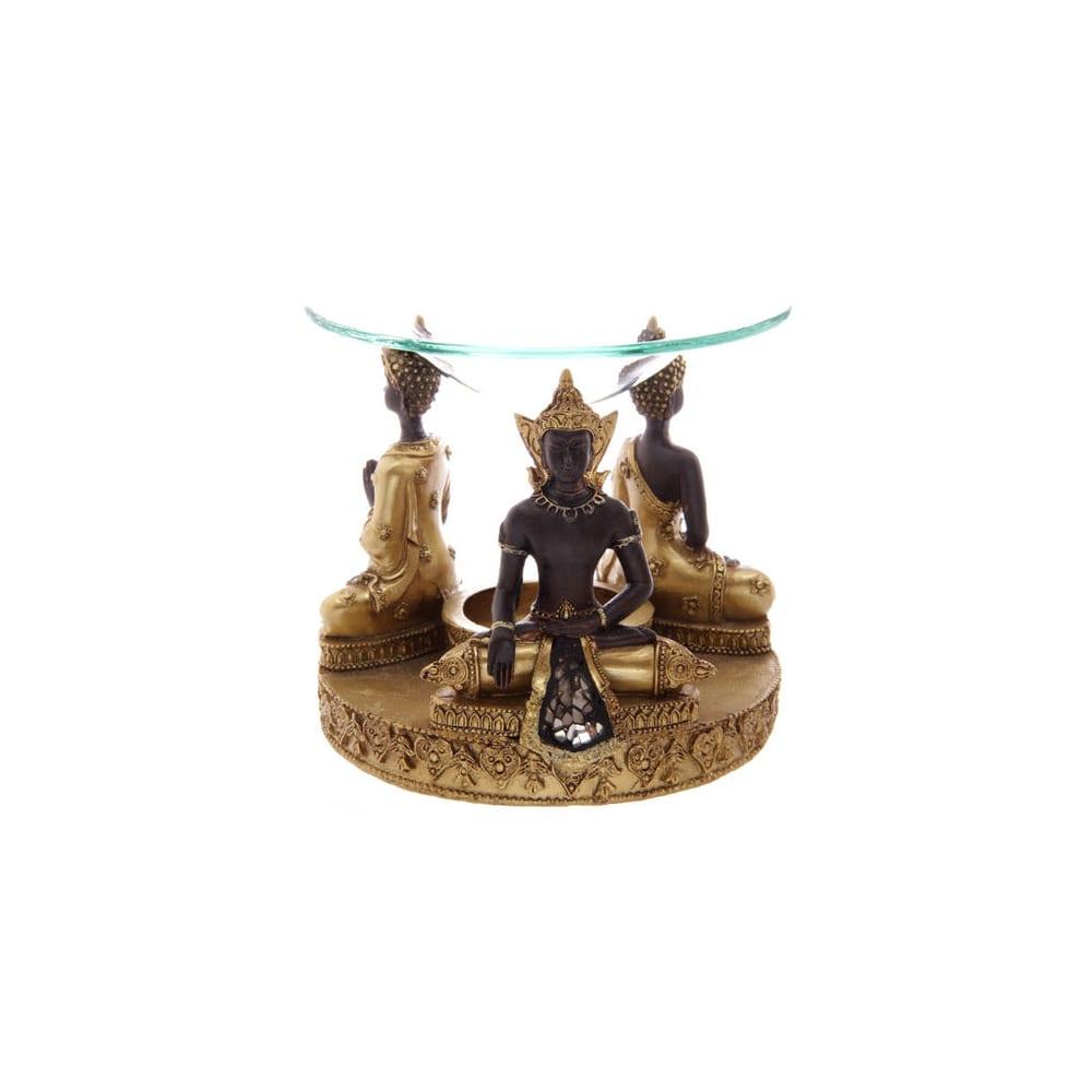 Quemador Aceite Buda Thai color Dorado
